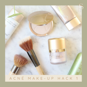 acné make-up hack jane iredale